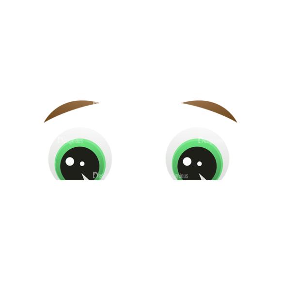 Vector Mascots Business Man Vector Eyes 42 5