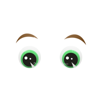 Vector Mascots Business Man Vector Eyes 44 Clip Art - SVG & PNG vector