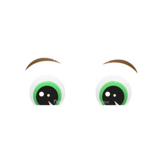 Vector Mascots Business Man Vector Eyes 45 Clip Art - SVG & PNG vector