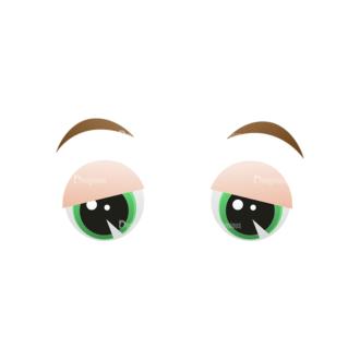 Vector Mascots Business Man Vector Eyes 46 Clip Art - SVG & PNG vector
