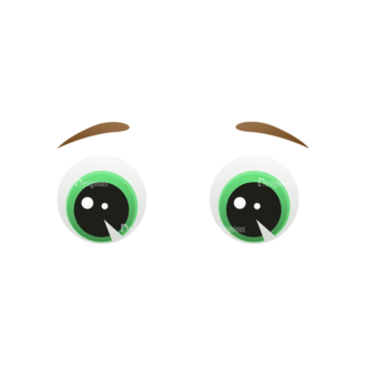 Vector Mascots Business Man Vector Eyes 54 Clip Art - SVG & PNG vector