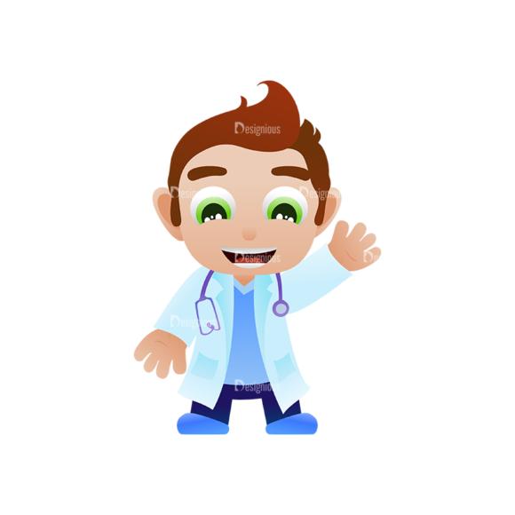 Vector Mascots Doctor Vector Doctor 04 1