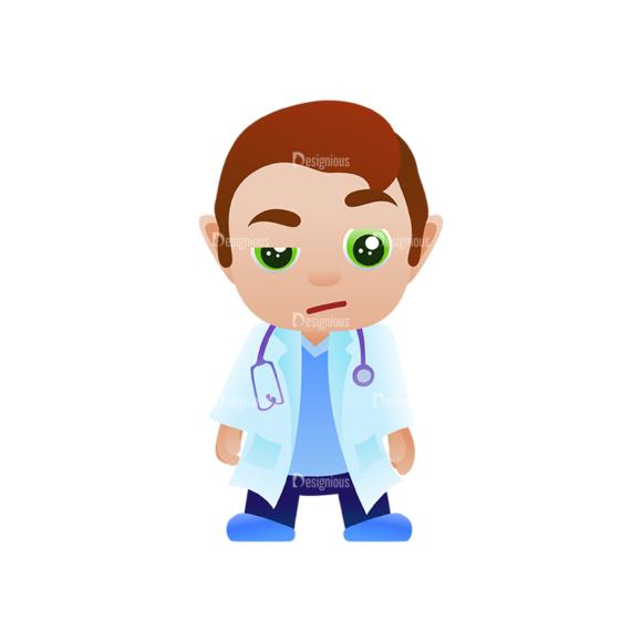 Vector Mascots Doctor Vector Doctor 05 1