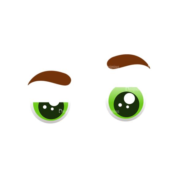 Vector Mascots Doctor Vector Eyes 47 Clip Art - SVG & PNG vector