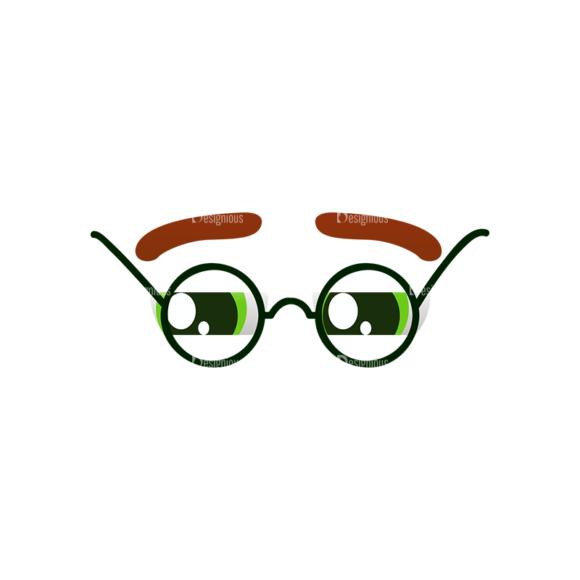 Vector Mascots Doctor Vector Eyes 48 Clip Art - SVG & PNG vector