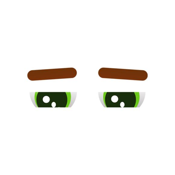 Vector Mascots Doctor Vector Eyes 49 Clip Art - SVG & PNG vector