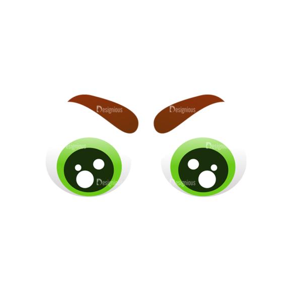 Vector Mascots Doctor Vector Eyes 51 Clip Art - SVG & PNG vector