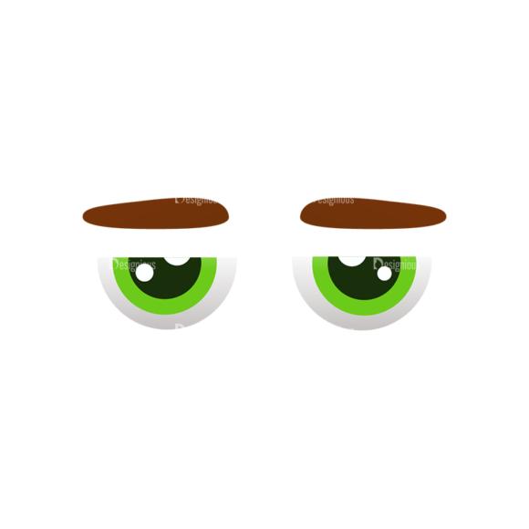 Vector Mascots Doctor Vector Eyes 52 Clip Art - SVG & PNG vector
