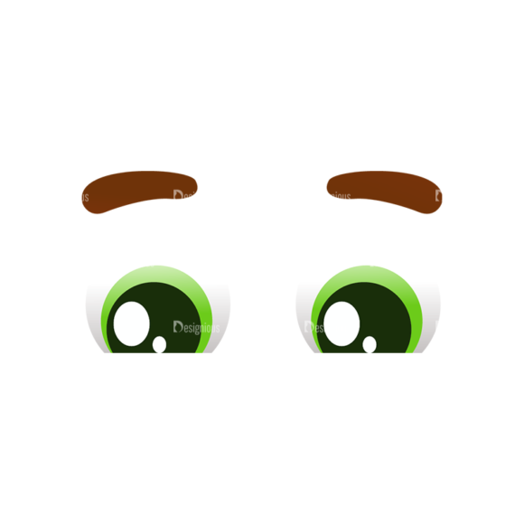 Vector Mascots Doctor Vector Eyes 53 Clip Art - SVG & PNG vector