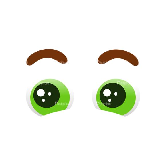 Vector Mascots Doctor Vector Eyes 58 Clip Art - SVG & PNG vector