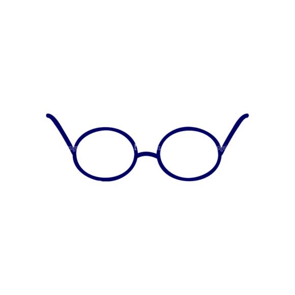 Vector Mascots Nurse Vector Eyeglass 68 Clip Art - SVG & PNG vector