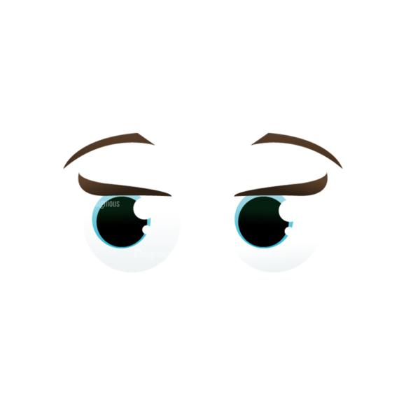 Vector Mascots Nurse Vector Eyes 70 5
