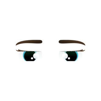Vector Mascots Nurse Vector Eyes 74 Clip Art - SVG & PNG vector