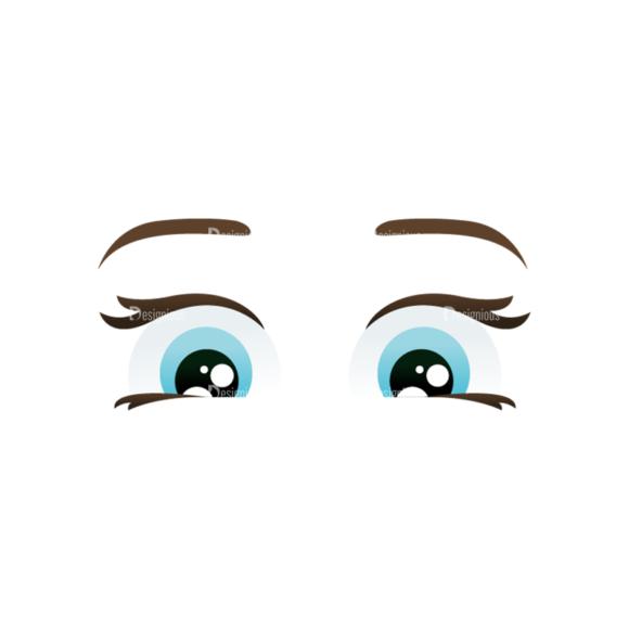 Vector Mascots Nurse Vector Eyes 76 Clip Art - SVG & PNG vector