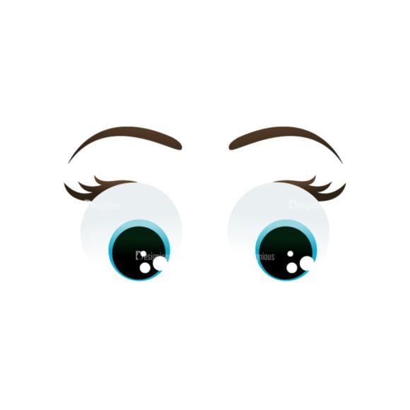 Vector Mascots Nurse Vector Eyes 79 5