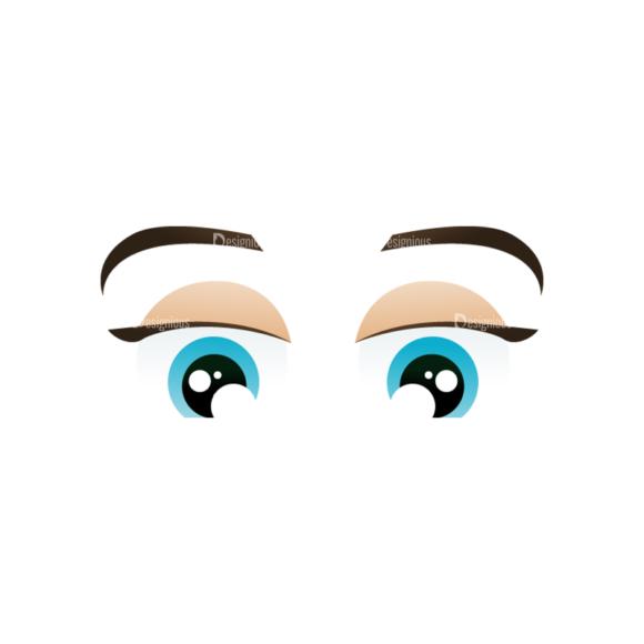 Vector Mascots Nurse Vector Eyes 89 5
