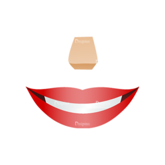 Vector Mascots Nurse Vector Mouth 62 Clip Art - SVG & PNG vector