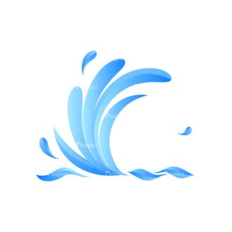 Waves Vector Set 1 Vector Wave 04 Clip Art - SVG & PNG wave