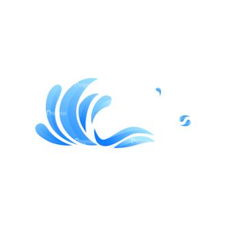Waves Vector Set 1 Vector Wave 06 Clip Art - SVG & PNG wave