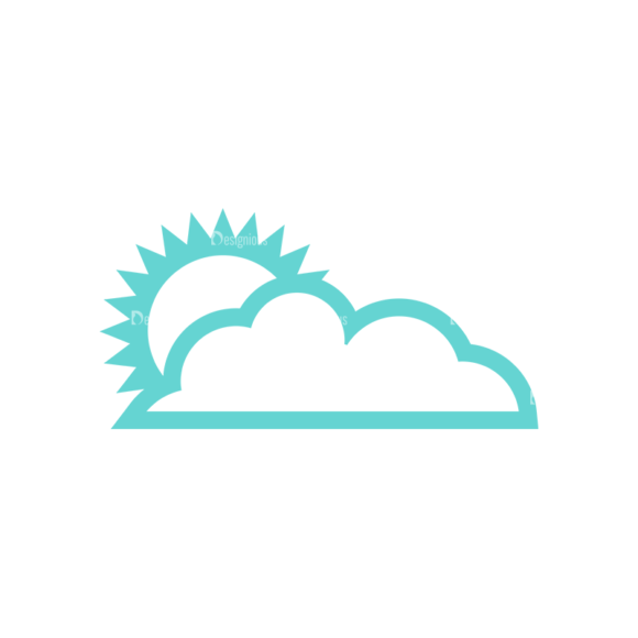 Weather Icon Set Vector Set 2 Vector Weather 02 Clip Art - SVG & PNG vector