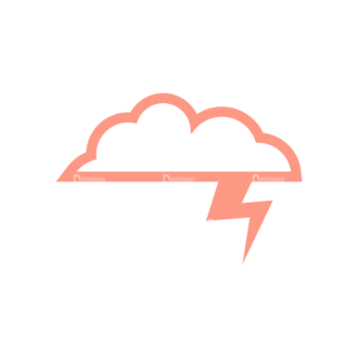 Weather Icon Set Vector Set 2 Vector Weather 04 Clip Art - SVG & PNG vector