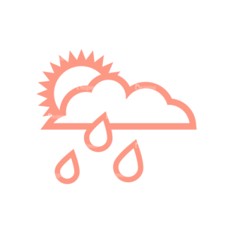 Weather Icon Set Vector Set 2 Vector Weather 05 Clip Art - SVG & PNG vector