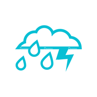 Weather Icon Set Vector Set 2 Vector Weather 13 Clip Art - SVG & PNG vector