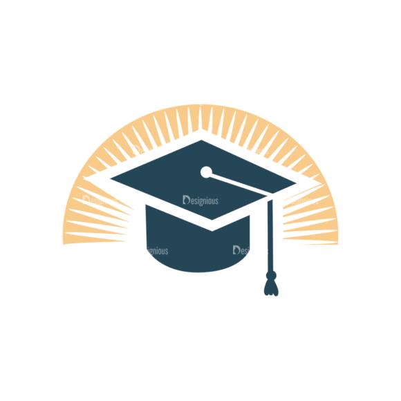 Web Icons Vector Set 2 Vector Graduation Clip Art - SVG & PNG vector
