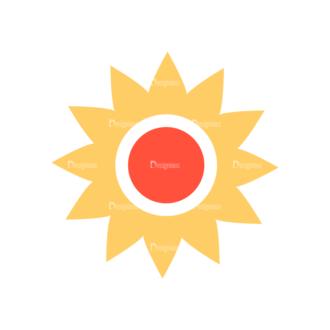 Web Icons Vector Set 6 Vector Flower Clip Art - SVG & PNG vector