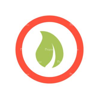 Web Icons Vector Set 6 Vector Leaf 10 Clip Art - SVG & PNG leaf