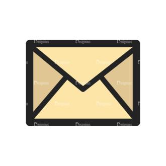 Website Design Doodle Vector Set 6 Vector Message Clip Art - SVG & PNG vector