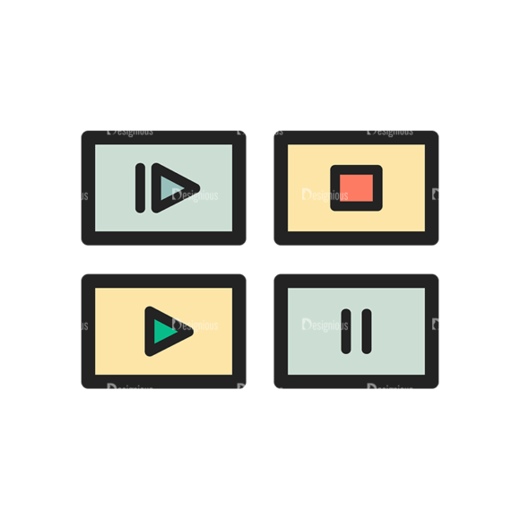 Website Design Doodle Vector Set 6 Vector Music Clip Art - SVG & PNG vector