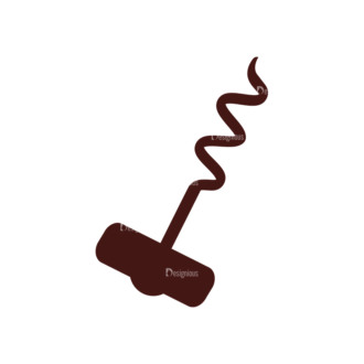 Wine Vector Elements Set 1 Vector Corkscrew Clip Art - SVG & PNG vector