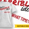 "Free ""Do You Even Lift"" T-shirt Design preview 7"