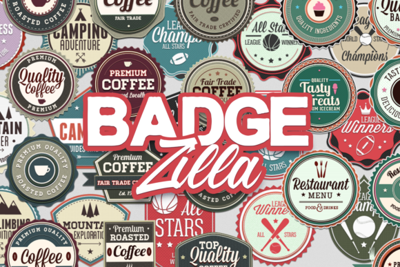 200+ Super Premium Badges BadgeZilla