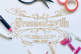 OrnamentZilla: Super Premium Vintage Elements Zilla - Super Premium Bundles vintage