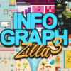 FlatZilla: Modern Vector Elements Bundle infographZilla3
