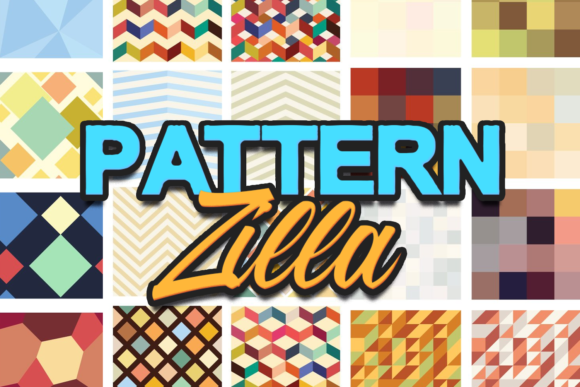 The Super Premium Seamless Patterns Set Zilla - Super Premium Bundles pattern