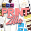 TypeZilla 2: Super Premium Handcrafted Typography Set printzilla