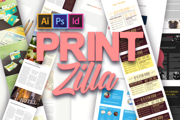 The Super Premium Print Templates Bundle printzilla