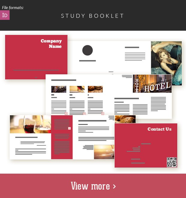 The Super Premium Print Templates Bundle study booklet small