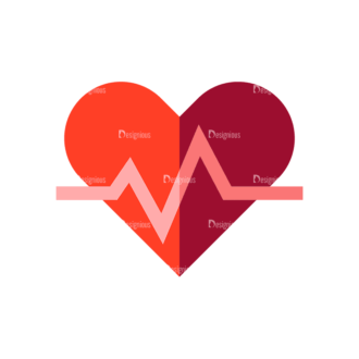 Fitness Medical Heart Preview Svg & Png Clipart Clip Art - SVG & PNG vector