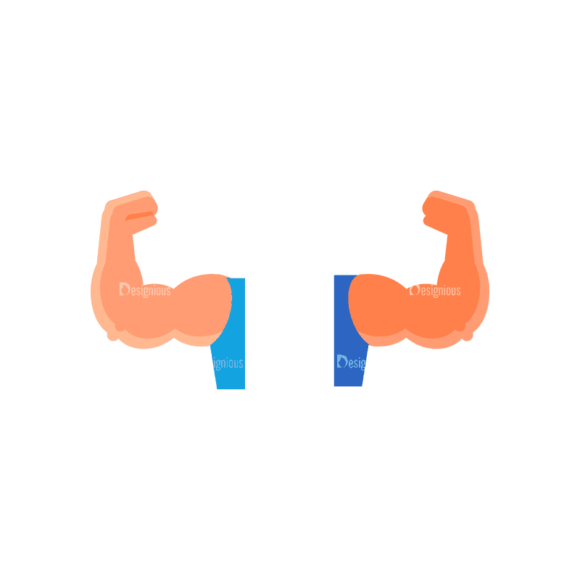 Fitness Muscle Preview Svg & Png Clipart Fitness Muscle 04 preview