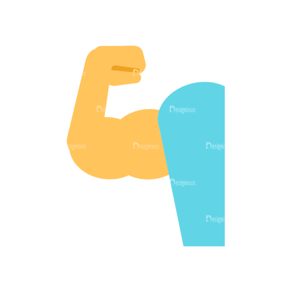 Fitness Muscle Preview Svg & Png Clipart Fitness Muscle 05 preview