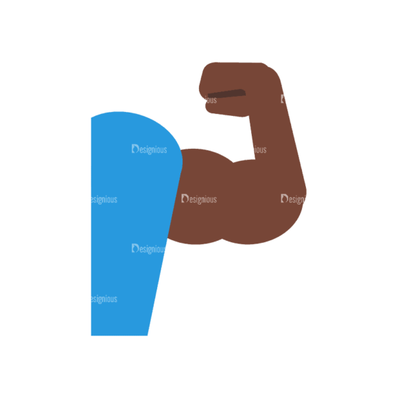 Fitness Muscle Preview Svg & Png Clipart Fitness Muscle 07 preview