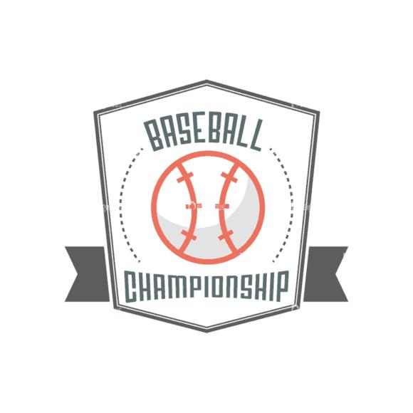 Sport Badges Baseball Preview Svg & Png Clipart Clip Art - SVG & PNG vector