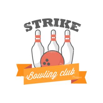 Sport Badges Bowling Preview Svg & Png Clipart Clip Art - SVG & PNG vector