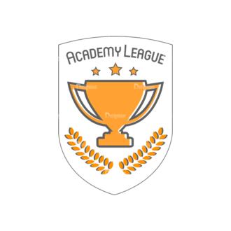 Sport Badges Cup Preview Svg & Png Clipart Clip Art - SVG & PNG vector