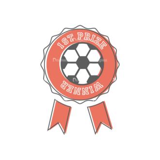 Sport Badges Soccer Preview Svg & Png Clipart Clip Art - SVG & PNG vector