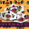 "18 ""Day of The Dead"" Calavera Face Mask Designs"